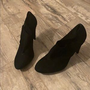 Coach slip on heels. Size 7. Worn once.